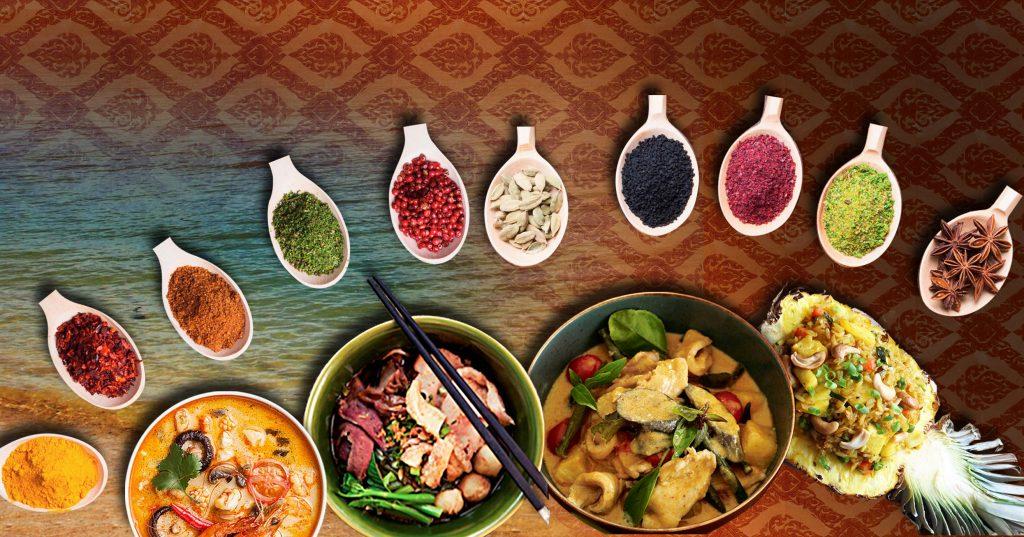 Ẩm thực Thái Lan rất phong phú với nhiều sự lựa chọn cho các du học sinh