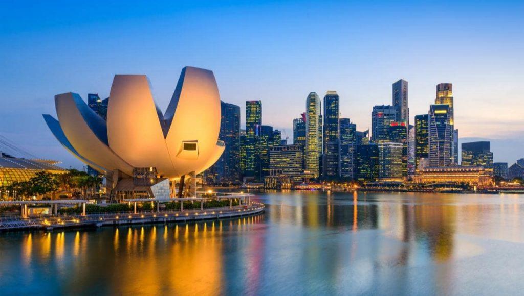 Singapore có vị trí địa lý rất gần Việt Nam.