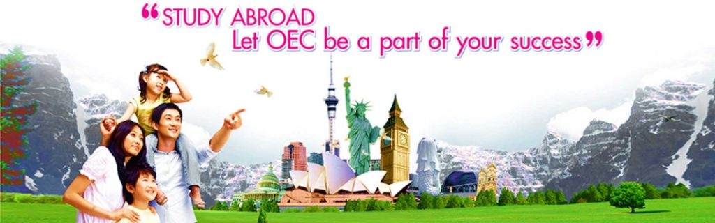 """Study abroad, Let OEC be a part of your succes"""