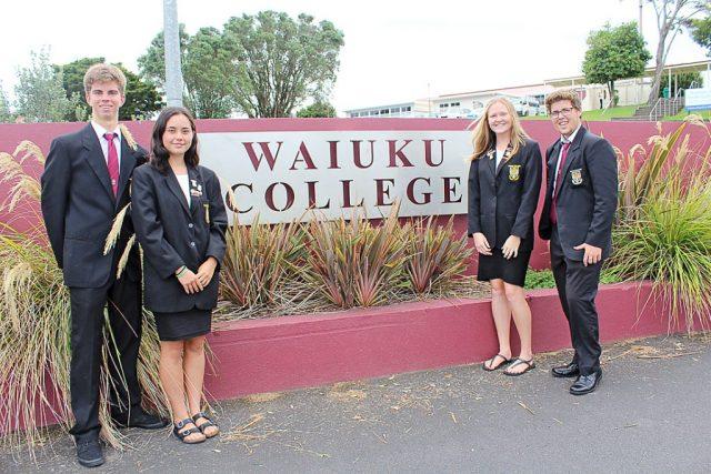 Trường THPT Waiuku College