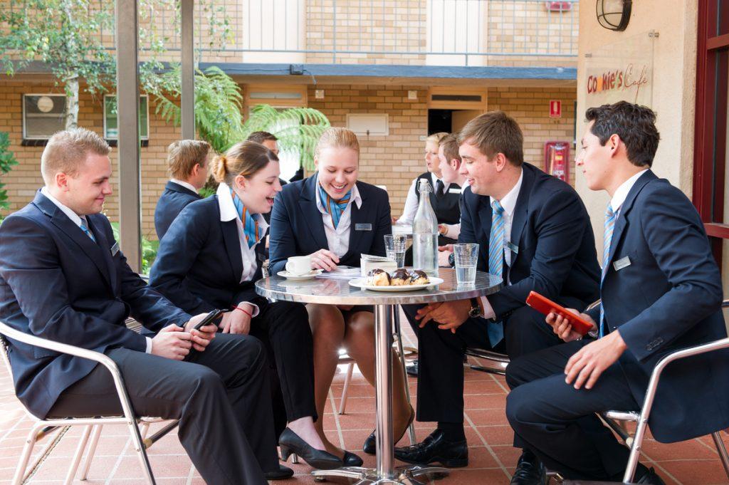 Ngành du lịch khách sạn du học Úc.