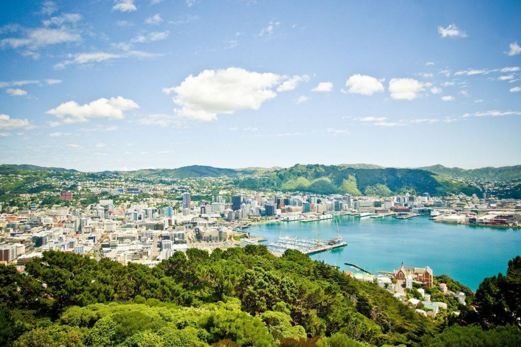 Victoria nằm tại thủ đô Wellington