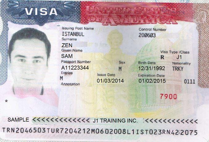 Visa j1 cho các du học sinh Mỹ