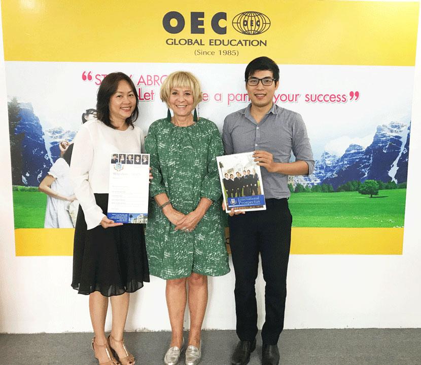 Các xuất học bổng được trung tâm tư vấn du học Oec giới thiệu