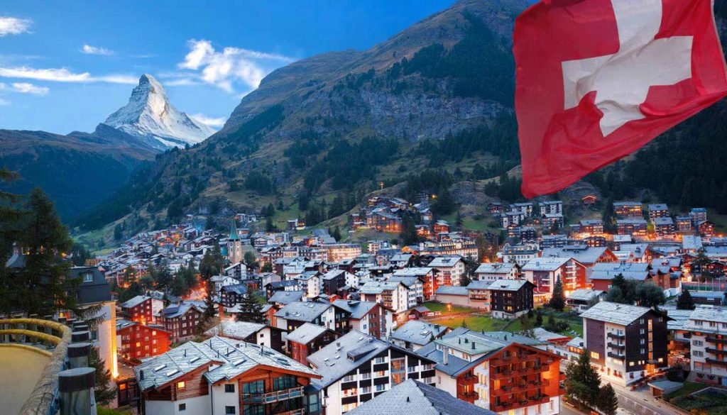 Thụy Sĩ là đất nước đa ngôn ngữ