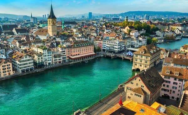 Không phải chứng minh tài chính khi du học Thụy Sĩ